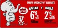 Pepephone contraataca: 2.90 céntimos/minuto y 501MB por 6.90 euros