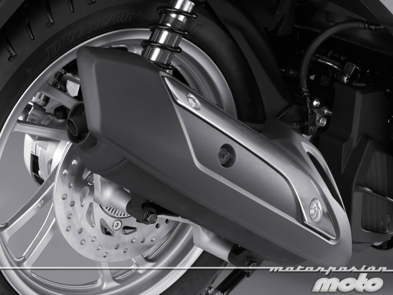 Foto de Honda Scoopy SH125i 2013, prueba (valoración, galería y ficha técnica)  - Fotos Detalles (52/81)