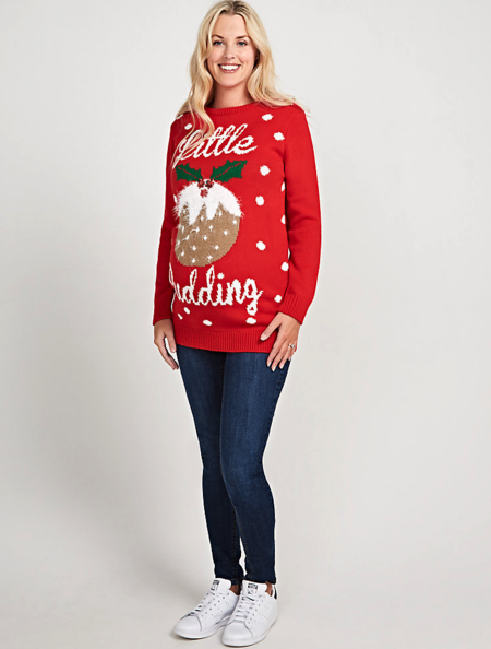 My Little Pudding Christmas Jumper
