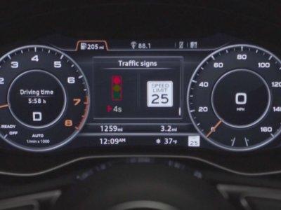 Los coches de Audi serán los primeros en el mercado en conectarse a las señales de tránsito