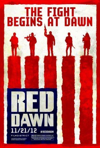 El nuevo cartel de Amanecer Rojo (Red Dawn)