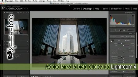 Adobe lanza la beta pública de Lightroom 4