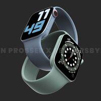Nuevos detalles del Apple Watch Series 7: marcos reducidos, nueva pantalla y extra de potencia
