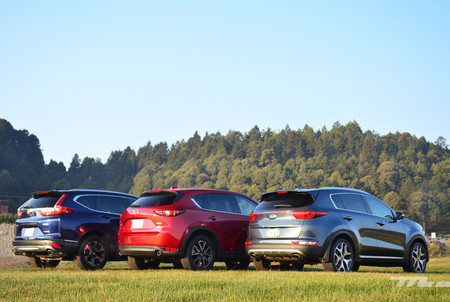 Honda Cr V Vs Kia Sportage Vs Mazda Cx 5 6