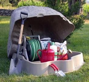 Una forma diferente de guardar las herramientas de tu jardín
