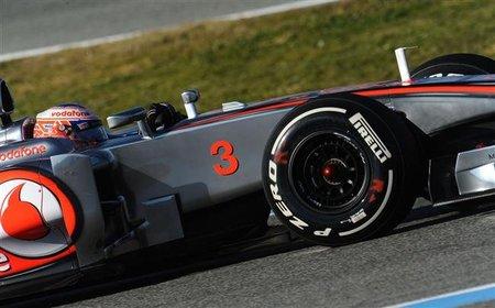El estilizado morro del McLaren MP4-27 tiene sus ventajas