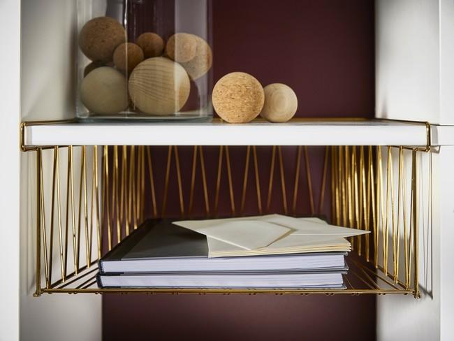 Ikea Novedades 2017 Ph140601 Kallax Cesto Refilla Acero Niquelado Bronce Lowres