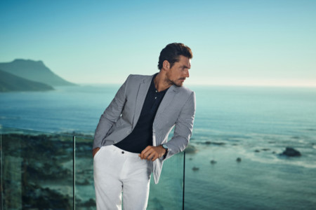 David Gandy continúa su affair con Marks & Spencer
