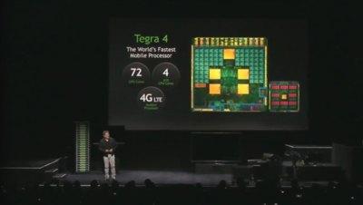 NVidia Tegra 4 es oficial: cuatro núcleos ARM Cortex A15