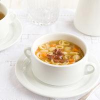 Receta de sopa de carne casera, para entonar cuerpo y alma