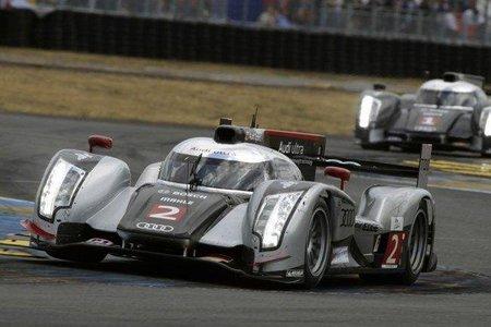 Audi ya tiene su R18 híbrido para las 24 horas de Le Mans
