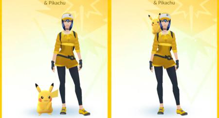 Cómo hacer que Pikachu vaya en tu hombro en Pokémon GO