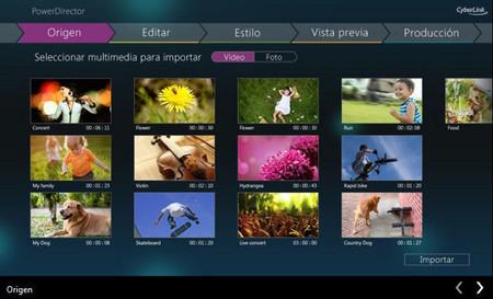 PowerDirector Mobile, edición de vídeo al toque. La aplicación de la semana