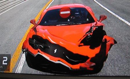 """'Gran Turismo 5': los """"curiosos"""" daños en lo vehículos se muestran en imágenes y vídeos"""