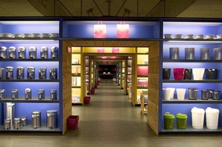 Interior de la tienda Vinçon Madrid