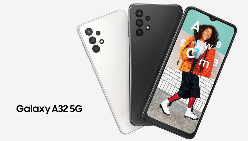 Samsung Galaxy™ A32 5G, el teléfono mas básico con 5G de Samsung™ no prescinde de cuádruple cámara ni de gran batería