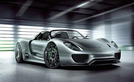 Porsche 918 Spyder gris 01