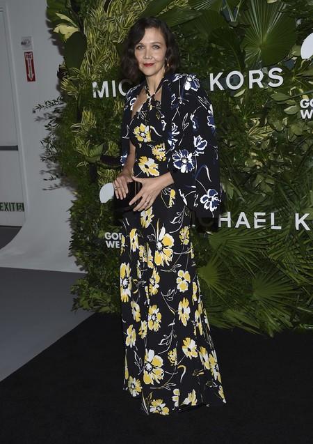 golden heart gala look estilismo outfit Maggie Gyllenhaal