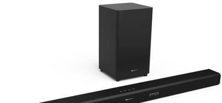 Sharp apuesta por el audio Dolby Atmos en sus nuevas barras de sonido y muestra un prototipo que luce 22.2 canales de audio