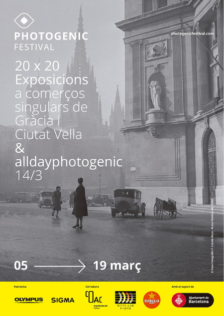 Cartel Photogenic 2020 Barcelona