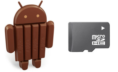 Android 4.4 (KitKat) no ha limitado el uso de las tarjetas microSD