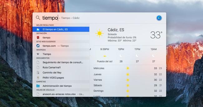 Foto de Usos de Spotlight en OS X El Capitan (3/4)