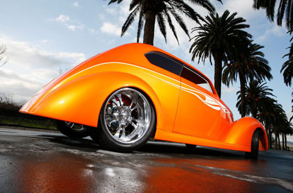 1937 Ford Sedan Dreamsicle