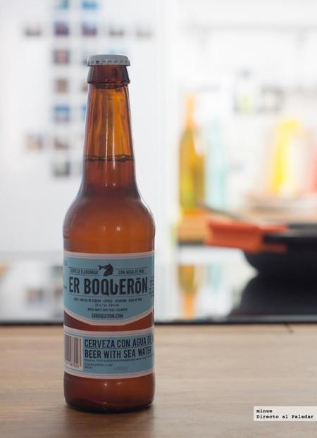 Er Boquerón. Cata de cerveza elaborada con agua de mar