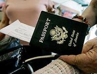 Hoy comienzan a pedir pasaporte a los americanos