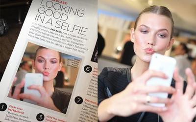 Una Top Model viola el copyright de una fotografía y la foto se expande sin control por los medios