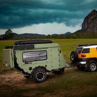 La AOR Sierra es una minicaravana todoterreno que presume de llevar la casa a cuestas a cualquier sitio