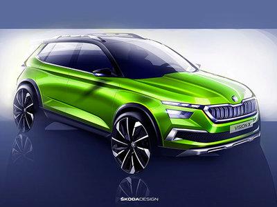 Škoda Vision X, el tercer SUV en discordia llegará en Ginebra