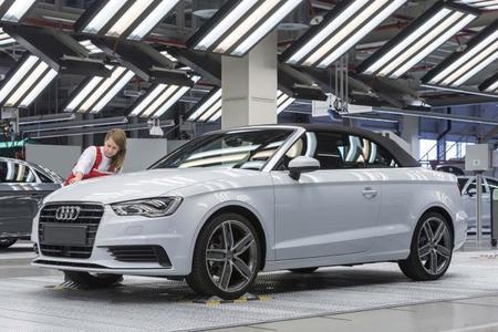 Ya ha comenzado a producirse el Audi A3 Cabrio en Győr