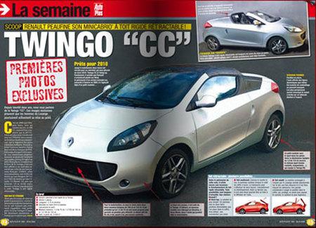 Recreación del Renault Twingo Coupé Cabriolet