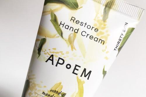 Probamos la nueva crema de manos Restore Hand Cream de APoEM, una auténtica caricia para la piel y máxima hidratación