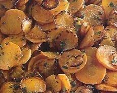 Salteado de zanahorias