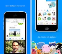 Facebook Messenger se actualiza en el iPhone para compartir mejor fotos y vídeos