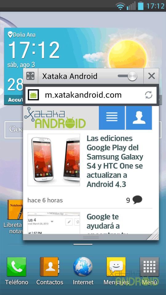 Foto de LG Optimus G Pro, capturas de pantalla (21/26)