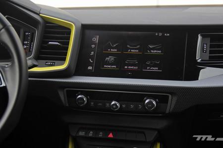Audi A1 pantalla