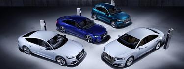 Audi amplía su gama de híbridos enchufables ahora para los modelos A8, A7, A6 y Q5
