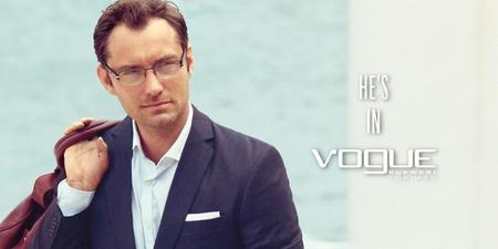 Vogue Eyewear 2013 Jude Law