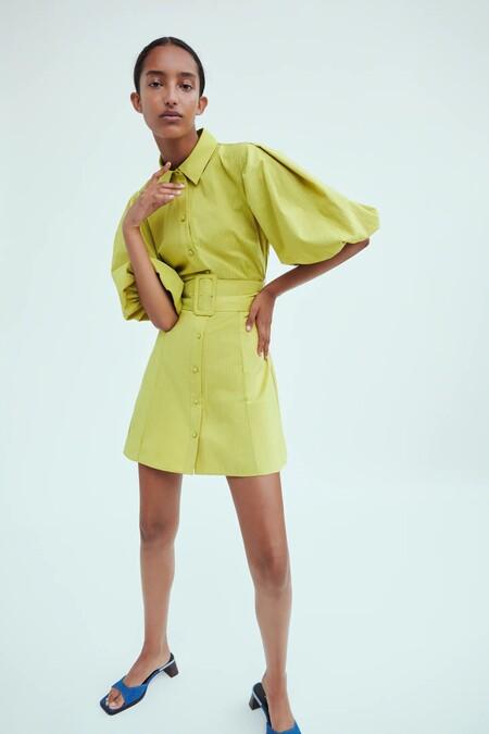 Vestido Zara Rebajas 2021 08