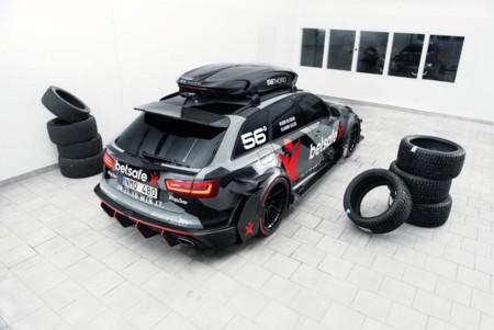 Roban y queman el Audi RS6 DTM de Jon Olsson