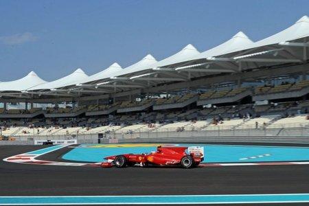 Fernando Alonso tercero en Libres 2 GP Abu Dhabi F1 2010