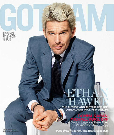 Ethan Hawke de mi vida ¿qué necesidad había de ese pelo?