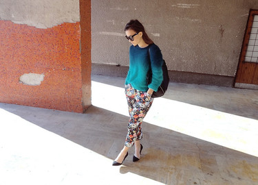 Moda en la calle: es el momento de que se vea el tobillo
