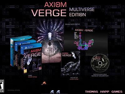 Axiom Verge tendrá una edición especial llamada Multiverse Edition para Wii U, PS4 y PSVita