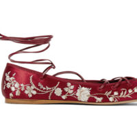 Bailarinas Lace Up Etro