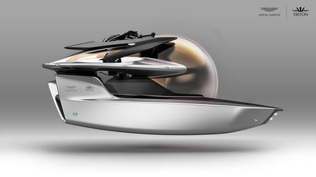 """Este submarino de edición limitada diseñado por Aston Martin """"emerge"""" del futuro"""