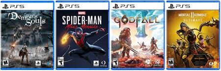 Juegos de PlayStation 5 en el Buen Fin 2020